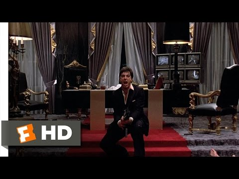 Say Hello to My Little Friend – Scarface (8/8) Movie CLIP (1983) HD