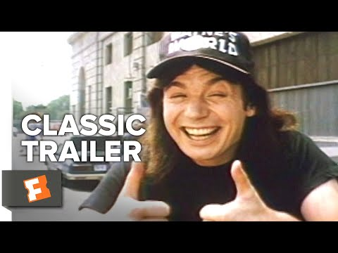 Wayne's World (1992) Trailer #1 | Movieclips Classic Trailers