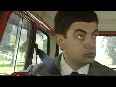 Crazy Driving | Funny Clips | Classic Mr Bean