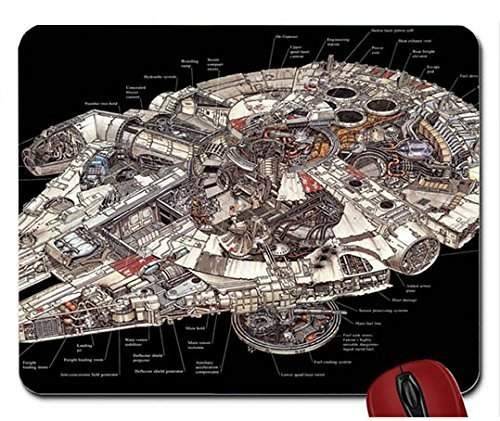 B Abstract Star Wars Fantasy Art Millenium Falcon