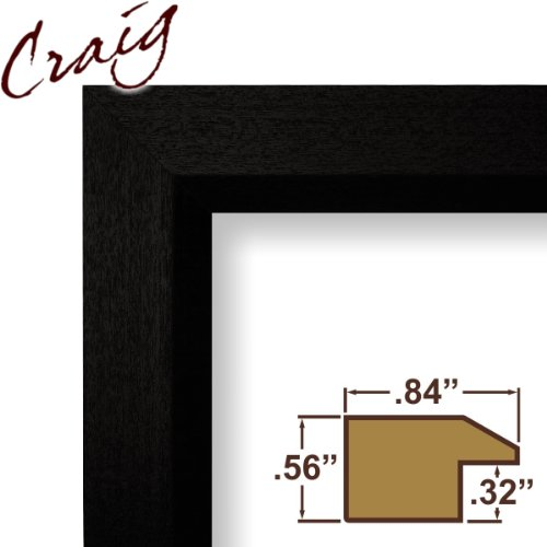 Craig Frames 7171610bk 18 By 24 Inch Picture Poster Frame