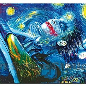 Joker Starry Night Painting For Sale