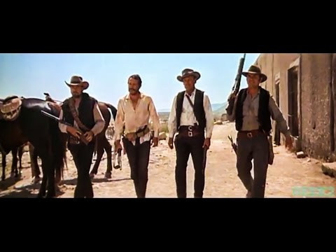 """""""The walk"""" in the classic western movie: The Wild bunch (1969)"""