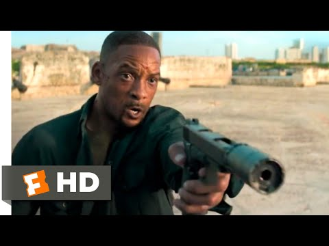 Gemini Man (2019) – Motorcycle Chase Scene (3/10) | Movieclips