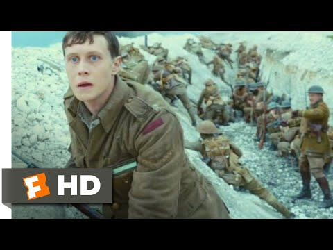 1917 (2019) – Battlefield Run Scene (8/10) | Movieclips