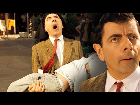 BUSKING Bean 🎸| Mr Bean's Holiday | Funny Clips | Mr Bean Official