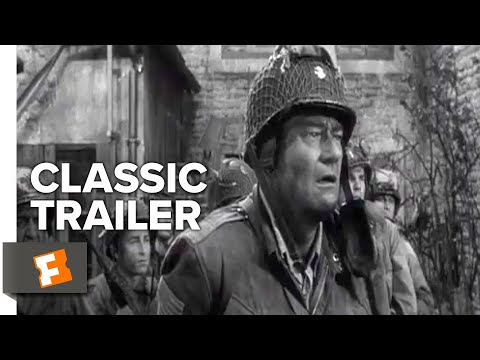 The Longest Day (1962) Trailer #1   Movieclips Classic Trailers