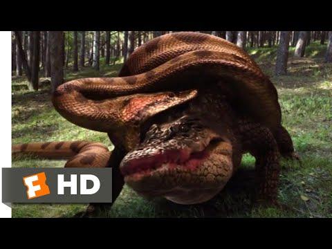 Lake Placid vs. Anaconda (2015) – Explosive Ending Scene (10/10) | Movieclips