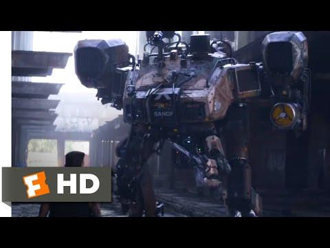 Chappie (2015) – Robot vs. Robot Scene (9/10) | Movieclips